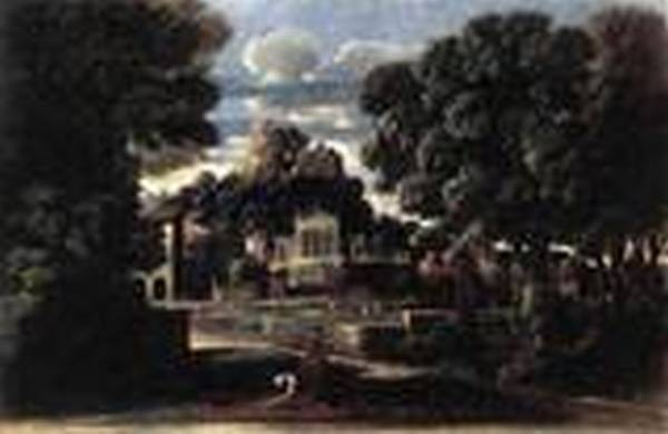 Landscape with the gathering of the ashes of phocion by his widow 1648 xx walker art gallery liverpool